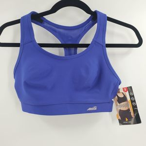 Avia Vibrant Molded Cup Sports Bra Clematis Blue